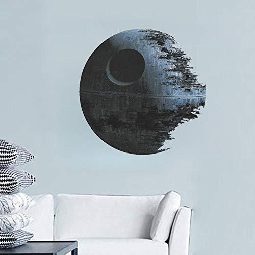 Pegatina de pared Planeta Decoración Pintura Star War Wall Etiqueta 45cm * 45cm