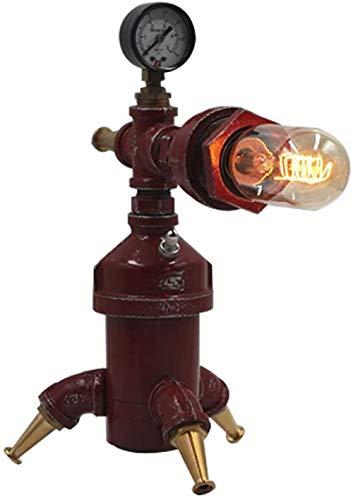 Nostalgische Creatieve Retro Mechanische Robot Tafellamp, Diy Restaurant Tafellamp Voor Restaurant Café Slaapkamers, Woonkamers, Bijzettafels (Inclusief Lamp)