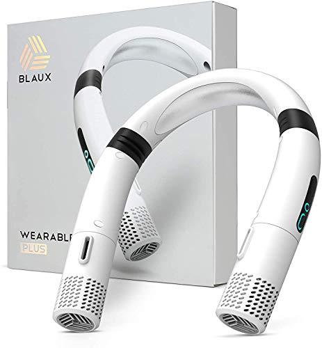 BLAUX Wearable AC Plus condizionatore portatile da collo - climatizzatore portatile da collo e climatizzatore personale | Ventilatore portatile indossabile | Refrigeratore d'aria indossabile