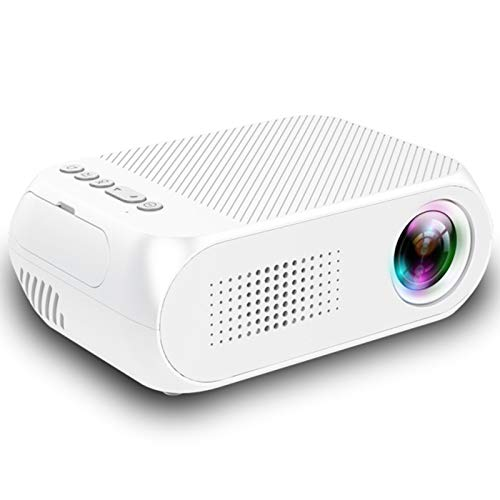 Proyector WiFi, Proyector De Video 1920x1080 Soporte Full HD 4K con Pantalla De Cine En Casa 3D De 60'