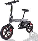 """TOEU Electric Bike, Urban Commuter Folding E-bike, Max Speed 25km/h, 14""""..."""