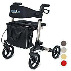 Health Line Compact Rollator For Seniors