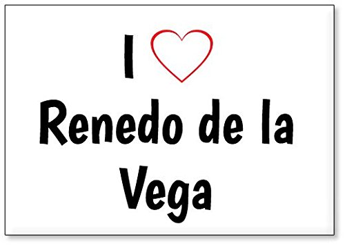 Mundus Souvenirs - Amo Renedo de la Vega, Imán para Nevera (diseño 1)