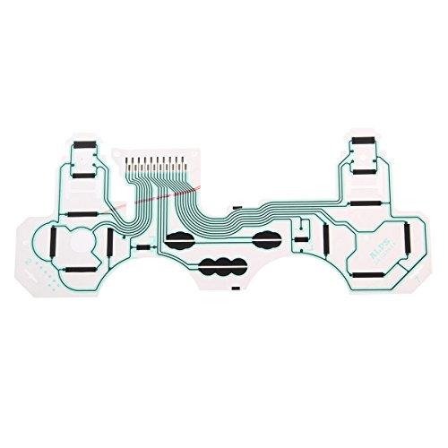 GOZAR Repalcement Ruban De Circuit Imprimé Flim Clavier Flex Cable Controller Conducteur pour Ps3