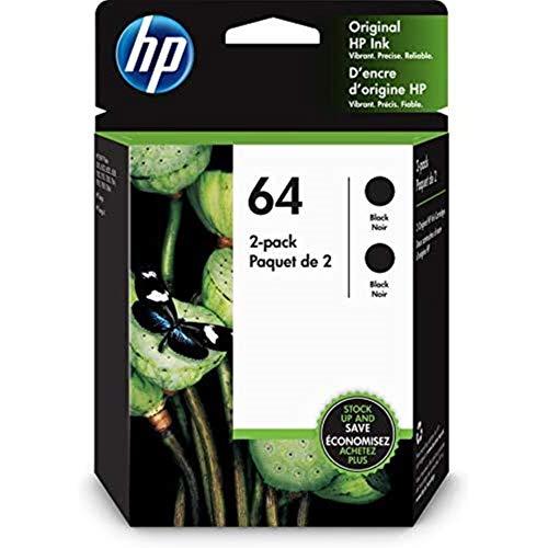 HP 64 | 2 Ink Cartridge | Black | 3YP22AN Mississippi