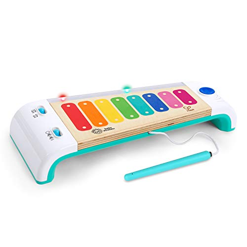 Baby Einstein Hape Magic Touch Xylophon Musikspielzeug mit Lichtern aus Holz, ab 12 Monaten