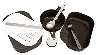 Red Rock Outdoor Gear RED06013-BRK 8Piece Mess Kit