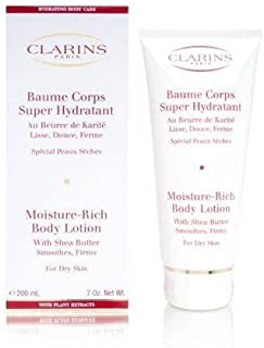 Clarins New Moisture-Rich Body Lotion (Dry skin), 7-Ounce Box