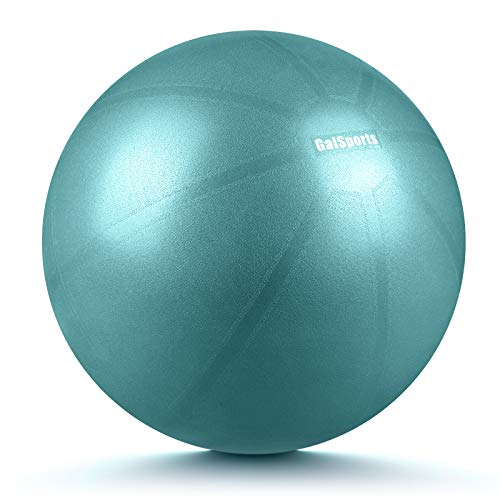 GalSports Pregnancy Birthing Ball, Yoga Exercise Birth Ball Chair for Delivery & Training & Fitness, Extra Thick Labor Ball with Quick Pump, Certified by SGS (Charcoal Blue, XL (68-75cm))
