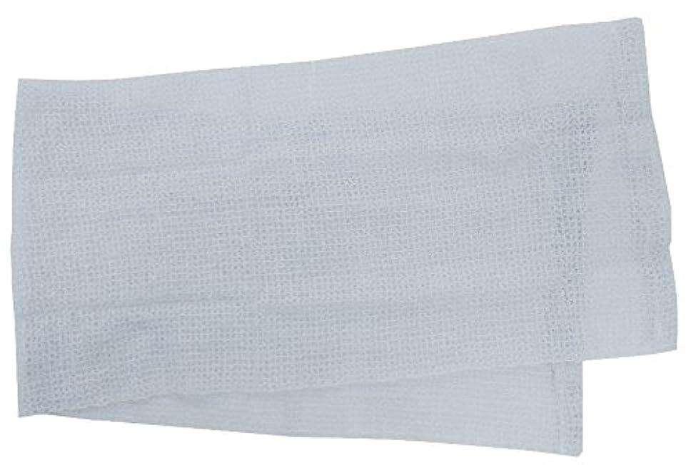ジェームズダイソン運命的な地下室小久保 『メレンゲのような泡立ちとソフトな肌ざわり』 モコモコボディタオル ブルー 24×100cm 2278