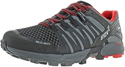 Inov-8 Mens Roclite 305 GTX Running Casual Shoes, Black;Grey, 8