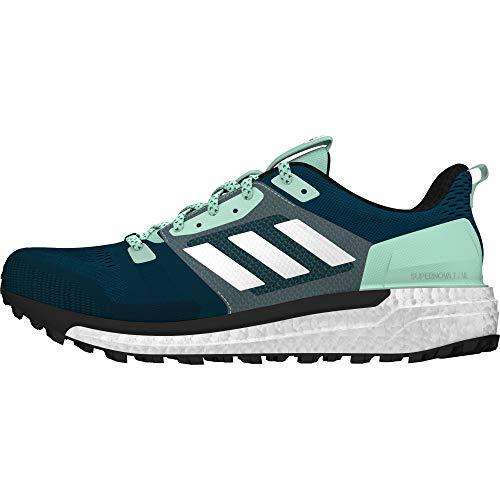 Adidas Supernova W, Zapatillas de Trail Running Mujer, Azul (Azcere/Ftwbla/Mencla 000), 44 EU