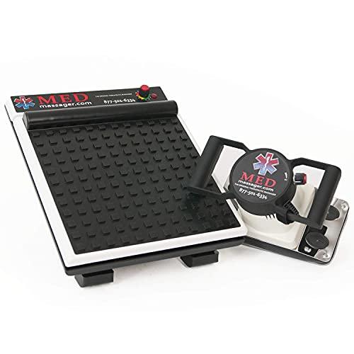 MEDMASSAGER MMB04B Variable Speed Body & Foot Massager Combo