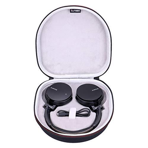LTGEM - Funda rígida de EVA para Auriculares Sony MDR-XB650BT/B con Bluetooth
