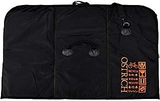 オーストリッチ OS-500 トラベルバッグ ブラック/オレンジ