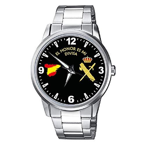 CASIO® Reloj Sumergible Guardia Civil Metálico