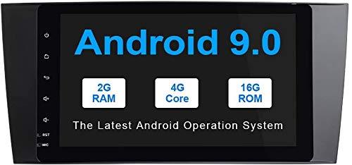 Android 9.0 GPS Navegación para Mercedes Benz W203 W209 W219 A-Clase A160 C Clase C180 C200 CLK200, Auto Sistema Estéreo WiFi OBD SWC Multimedia