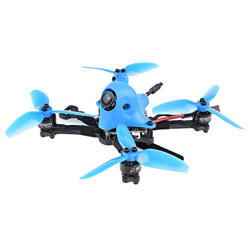 BETAFPV HX115 3-4S FPV Toothpick Drone Frsky with F4 AIO 2-4S Toothpick FC Caddx Kangaroo Camera OSD Smart Audio A01 25mW 200mW Switchable VTX 1105 5000KV Motor for Micro FPV Freestyle