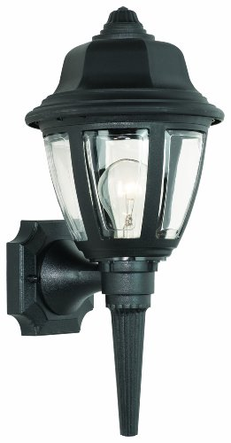 Thomas Lighting SL94427 Outdoor Essentials Outdoor Wall Lantern, Black