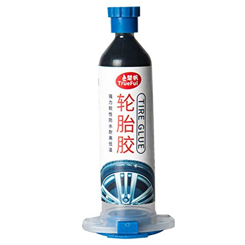 Stronrive Reifenreparatur Kleber Wasserfest Reifenkleber Alleskleber Gummi Reparatur Set Gummikleber für Auto/Motorrad/Fahrrad/LKW