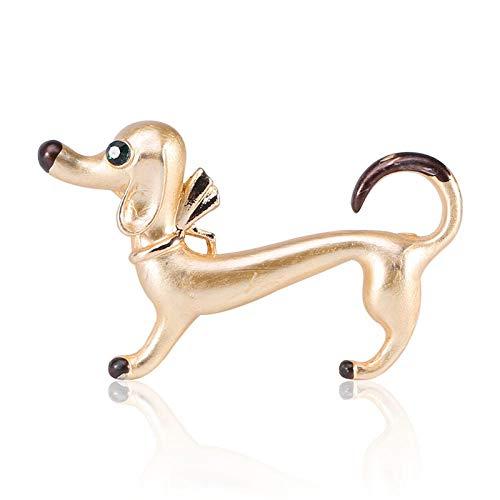 YHSTG Creative Cute Dachshund Dog Animal pin