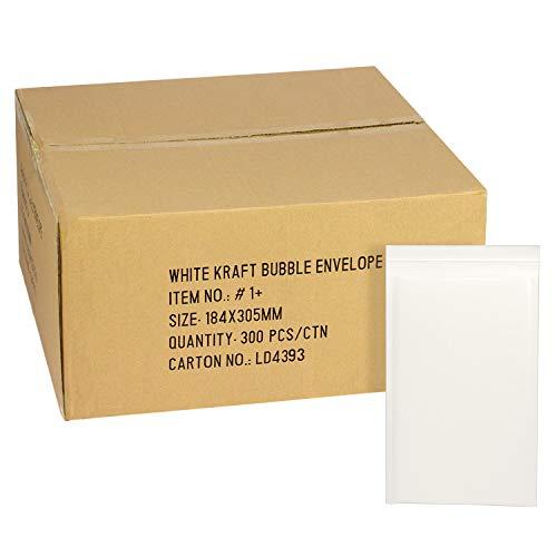 AdHoc クッション封筒 DVDトールケース2枚対応 300枚 #1-BOX