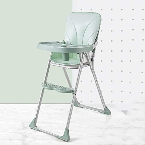 SZXJJ Bébé Chaise Enfant Chaise bébé Table à Manger Accueil Simple Siège Portable Multifonction Enfant BB Tabouret (Color : B)