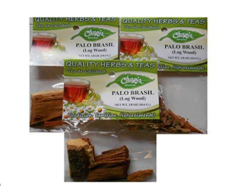Palo Brasil (Log Wood) Net Wt 3/8oz (10.6g) 3-Pack