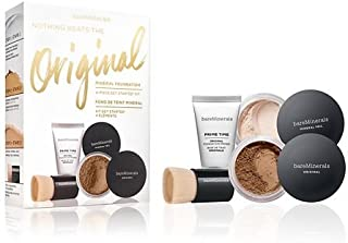 Bare Minerals Nothing Beats the Original Mineral Foundation 4-Piece Get Started Complexion Kit, Neutral Deep