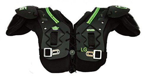 TAG Battle Gear II Youth Football Shoulder Pad TSP45 (T-Hook Lockdown Side Strap) Small