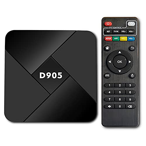 Akin Smart TV Box Android 10.0 TV Box 4GB RAM / 32GB 2.4G WiFi TV Box mit Quad Core für ARM CortexA53 CPU 4K @ 60fps Amlogic S905 Youtube Android TV Box Set Top Box Media Player