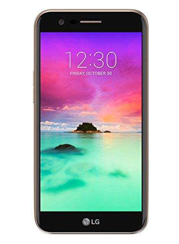 LG K10 2017 (M250N) SIM única 4G 16GB Negro, Oro - Smartphone (13,5 cm (5.3'), 16 GB, 13 MP, Android, 7.0, Negro, Oro)
