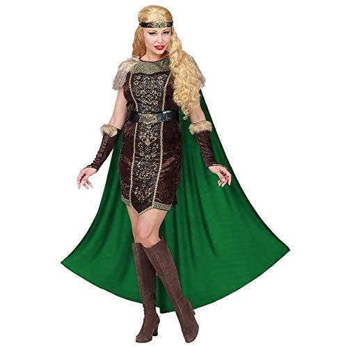 WIDMANN Disfraz de Vikinga Hilda para Mujer S