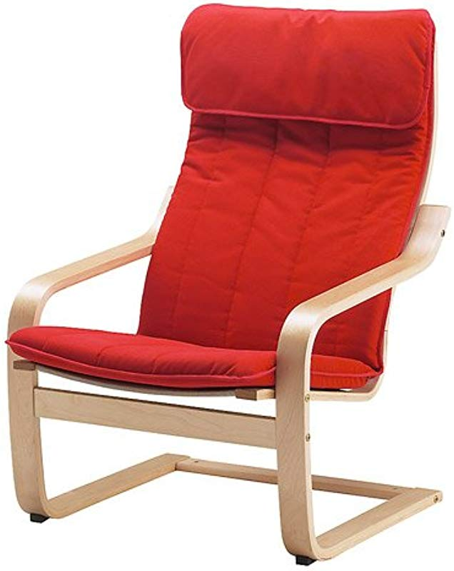 Ikea Poang Chair Armchair With Cushion Cover And Frame