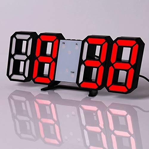 JIAXIN Reloj Pared Reloj Reloj De Pared Digital Led Reloj De Diseño...