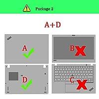 for lenovo Thinkpad T450 T460P T460S T470 T470P T470S T480 T480S T570 T580T T431S T440Sラップトップスキンプロテクターのラップトップステッカー-Package-2 A D-For ThinkPad T480S