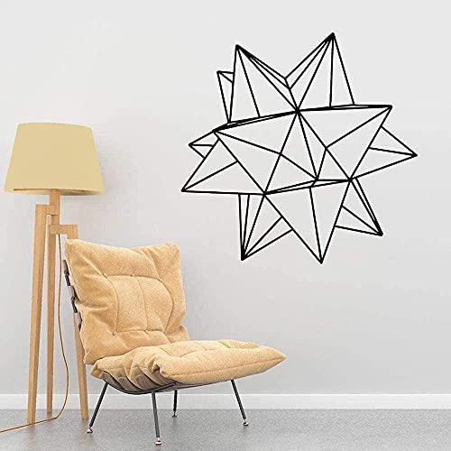 Pegatina de estrella Papel tapiz de vinilo a prueba de agua Decoración del hogar para la cocina Restaurante Home Party Decor Wallpaper 43x43cm