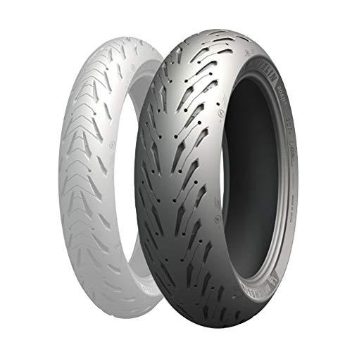 Michelin 87-92809 Tire Road 5 Rear 190/55 Zr17 (75W) Radial Tl