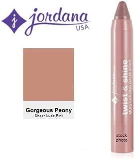 Jordana Twist & Shine Moisturizing Balm Stain 09 Gorgeous Peony