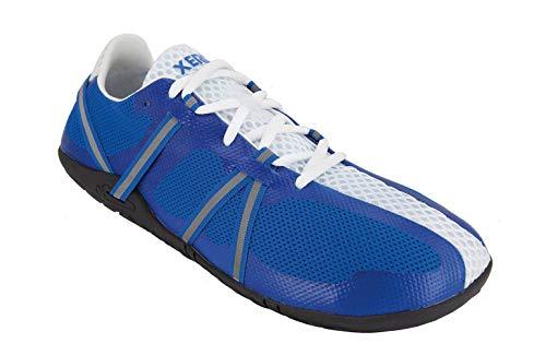 Xero Shoes Speed Force  Men#039s Barefoot Minimalist Lightweight Running Shoe  Roads Trails Workouts Blue