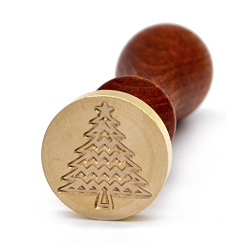 Christmas Tree Wax Seal Stamp for Sealing Christmas Card Invitations Envelope
