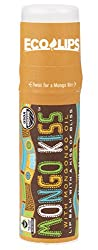 Eco Lips Mongo Kiss Display Center Lip Balm Organic, Vanilla Honey, 0.25 Ounce