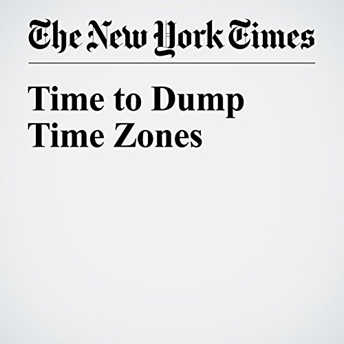 Time to Dump Time Zones cover art