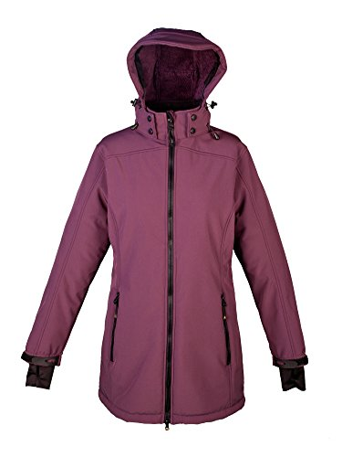DEPROC-Active Soft Shell Long - Coat - Soft Shell Long - Femme - Violet (Berry) - 38