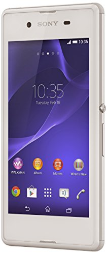 Sony Xperia E3 Smartphone, kein SIM-Lock, 4G, Display 4,5 Zoll, 4 GB, Single-SIM, Android 4.4 KitKat