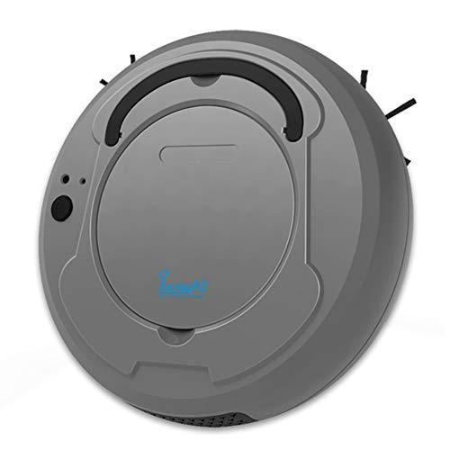ASIAKK Roboterstaubsauger, 3-in-1 Automatik Staubsauger Wischboden Kehrmaschine Roboter-Staubsauger Haustiere Haare Hartholzboden-Oberflächen