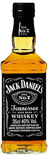 Jack Daniel's Old No.7 Tennessee Whiskey - 40% Vol. (1 x 0.35 l) / Durch Holzkohle gefiltert. Tropfen für Tropfen
