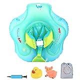 Luchild Baby Schwimmen Ring Baby Schwimmhilfe Kinder Schwimmring mit Pumpe Schwimmtrainer für Kinder Von 6 Bis 26 Monaten