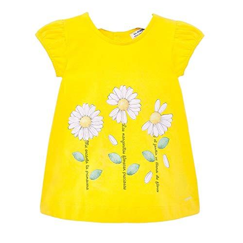 Mayoral meisje zomer baby jurk margrieten, geel - 1.935