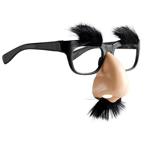 Generique - Brille mit Nase und Schnurrbart